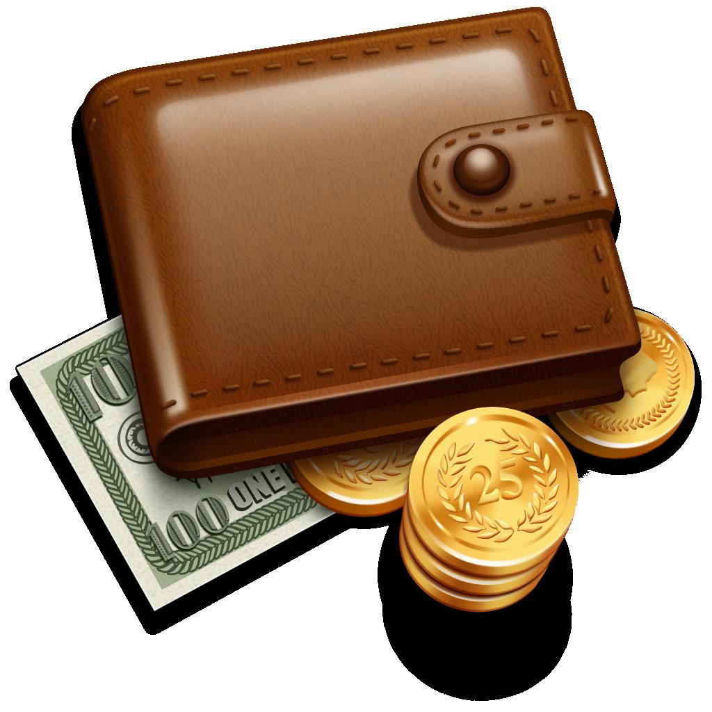 Wallet clipart orange bag. Money clip art transprent
