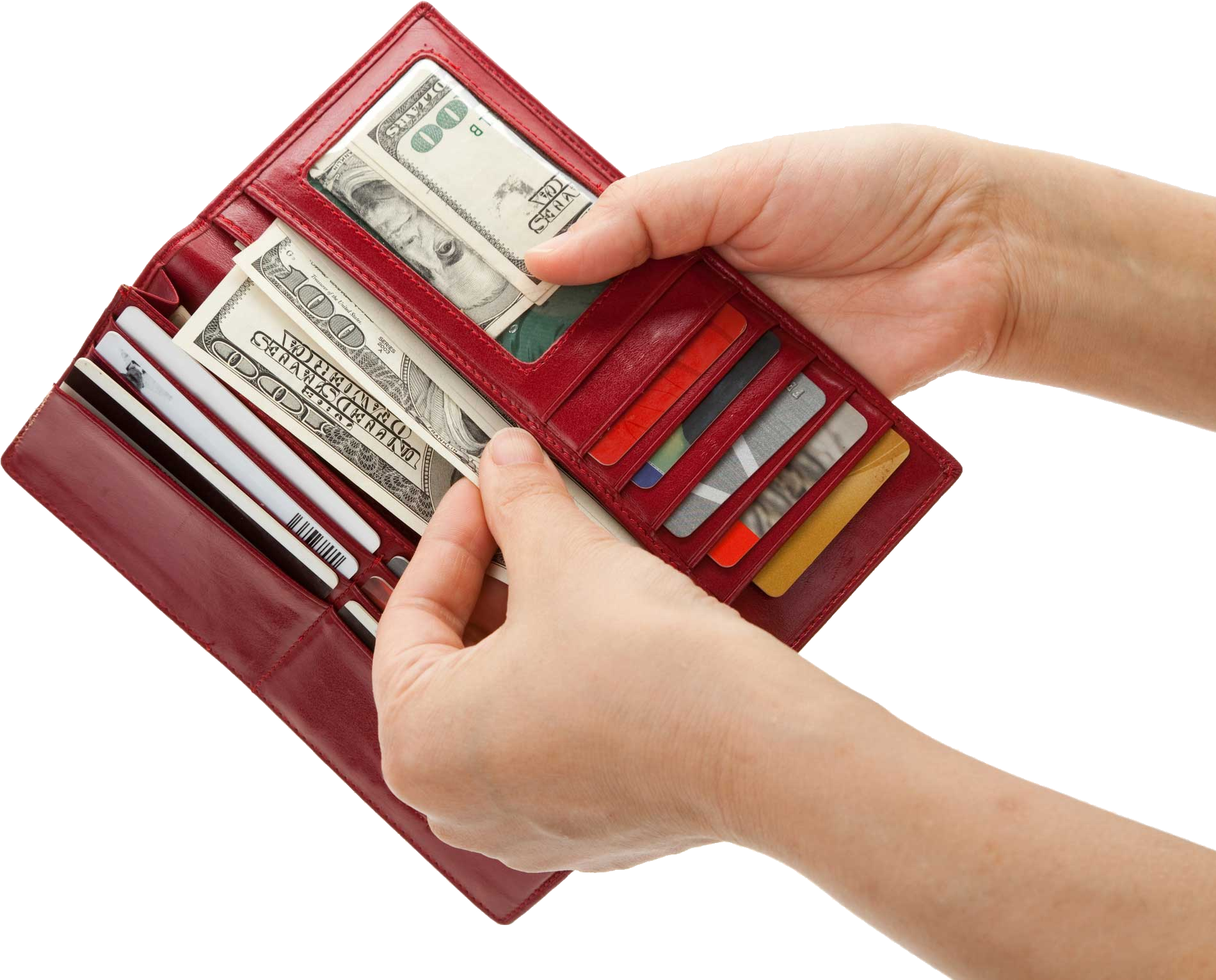 With money transparent png. Wallet clipart red wallet