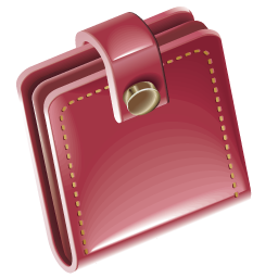 Wallet clipart red wallet. Png transparent images all