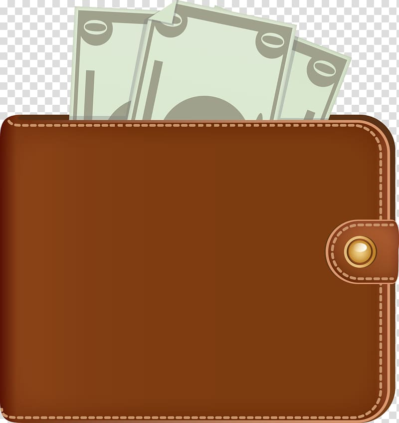 Computer icons leather . Wallet clipart transparent background