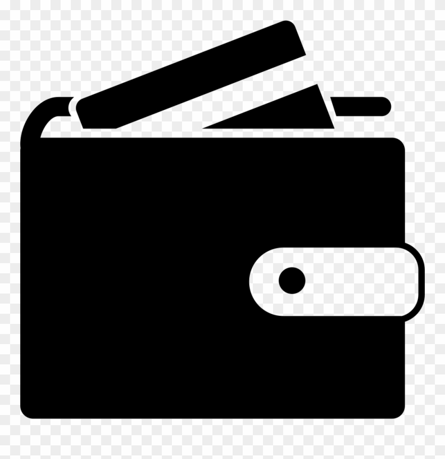 Wallet clipart transparent background. Svg icon png
