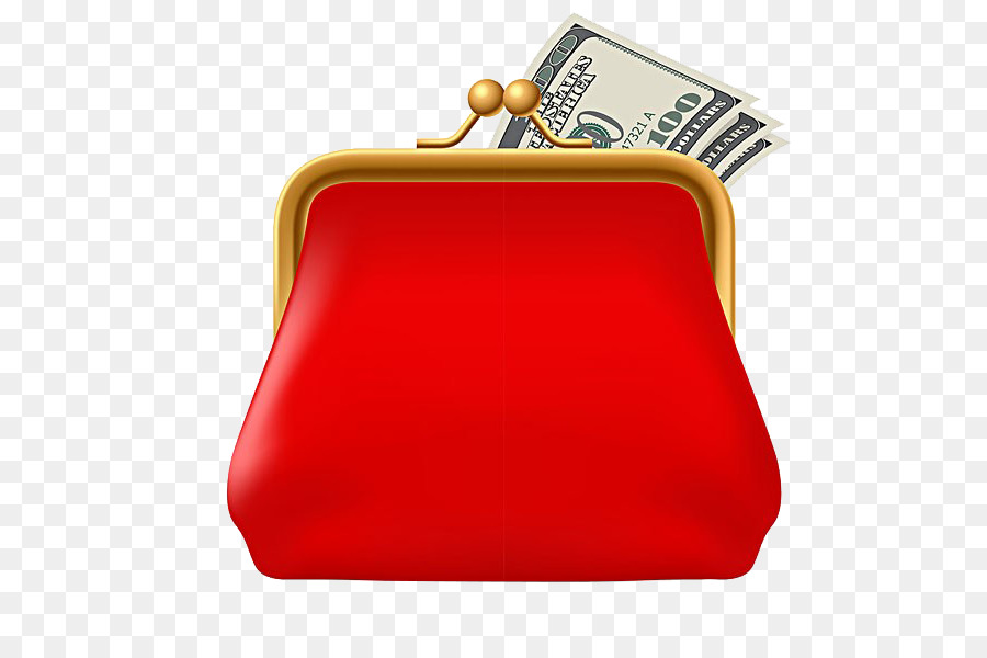 Wallet clipart woman wallet. Red background png download