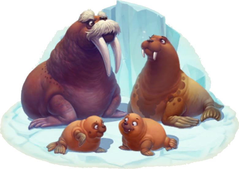 Walrus clipart animal arctic. Township wiki fandom powered