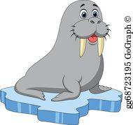 Clip art royalty free. Walrus clipart blubber