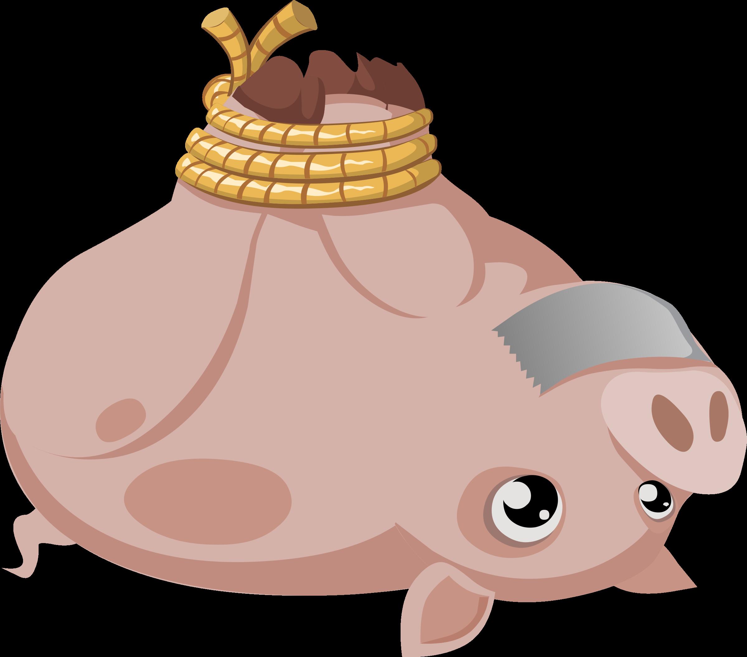 Walrus clipart svg. Misc hogtied piggy icons