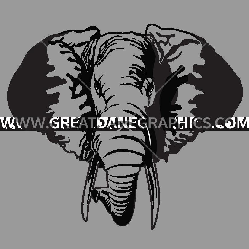 Elephant drawing at getdrawings. Walrus clipart tusk