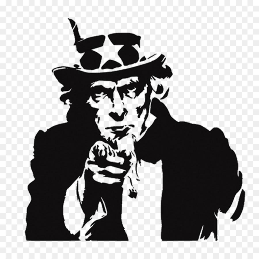 Want clipart. Uncle sam royalty free