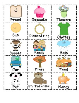Want clipart family needs. Wants and sorting cards
