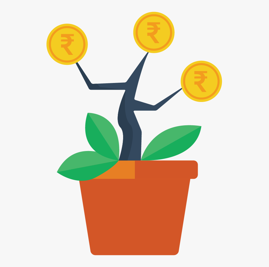 Want clipart income tax. Saving investments money tree