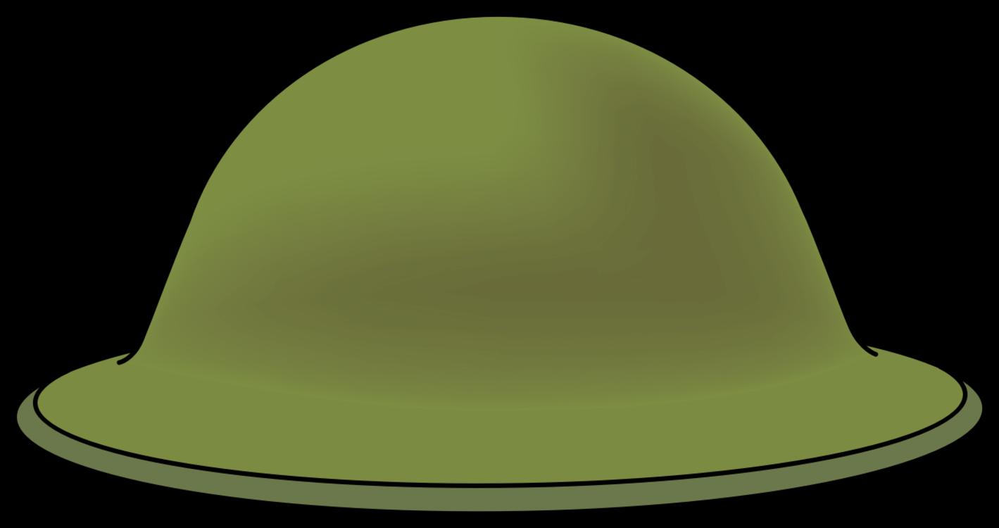 First world combat soldier. War helmet png