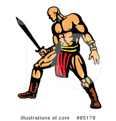 Illustration by patrimonio royaltyfree. Warrior clipart