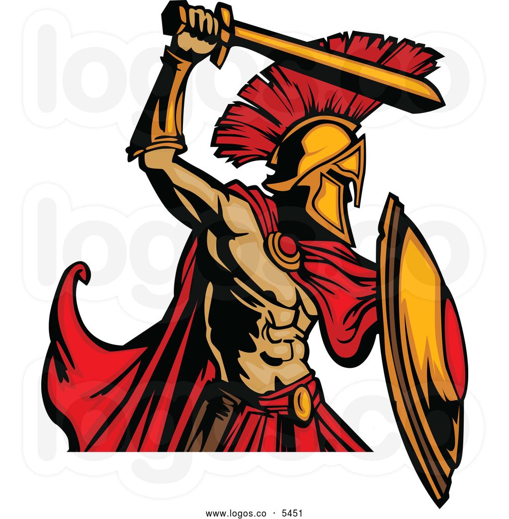 Warrior clipart. Spartan