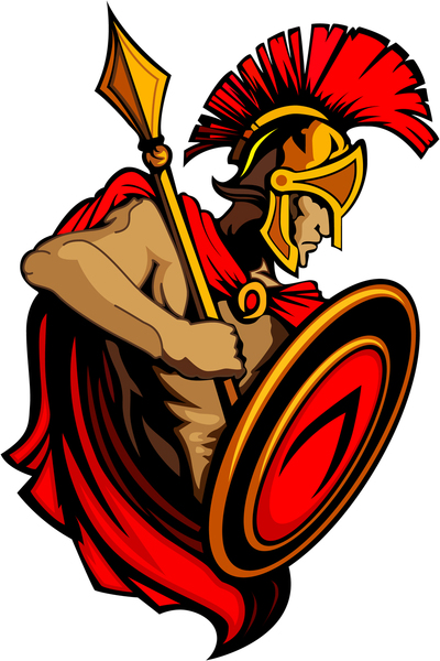 collection of trojan. Warrior clipart