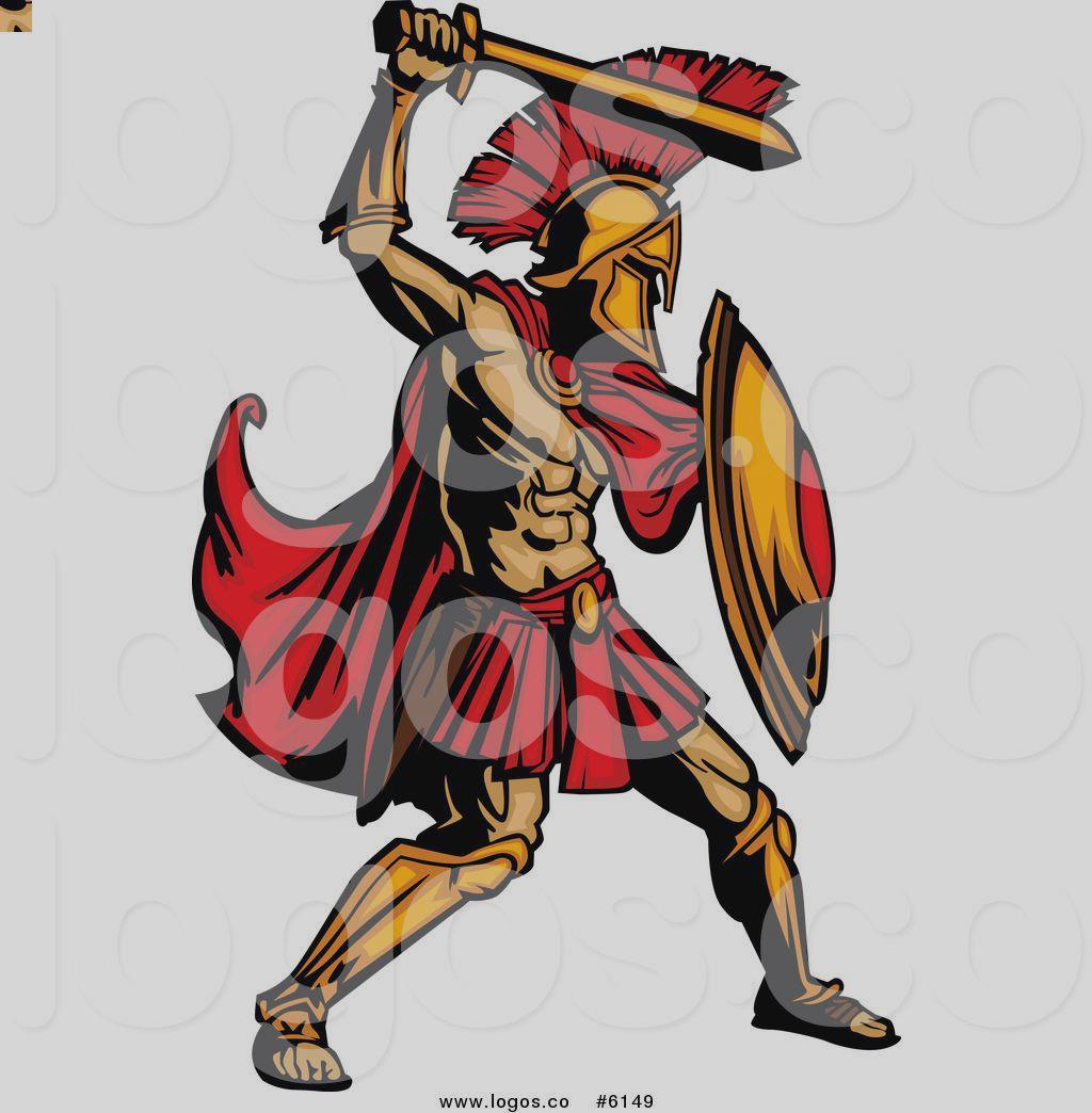 Warrior clipart. Spartan at getdrawings com