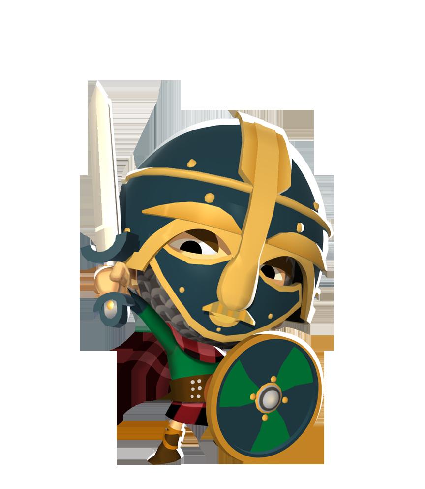 Warrior clipart aboriginal. Osgood the saxon destroyer