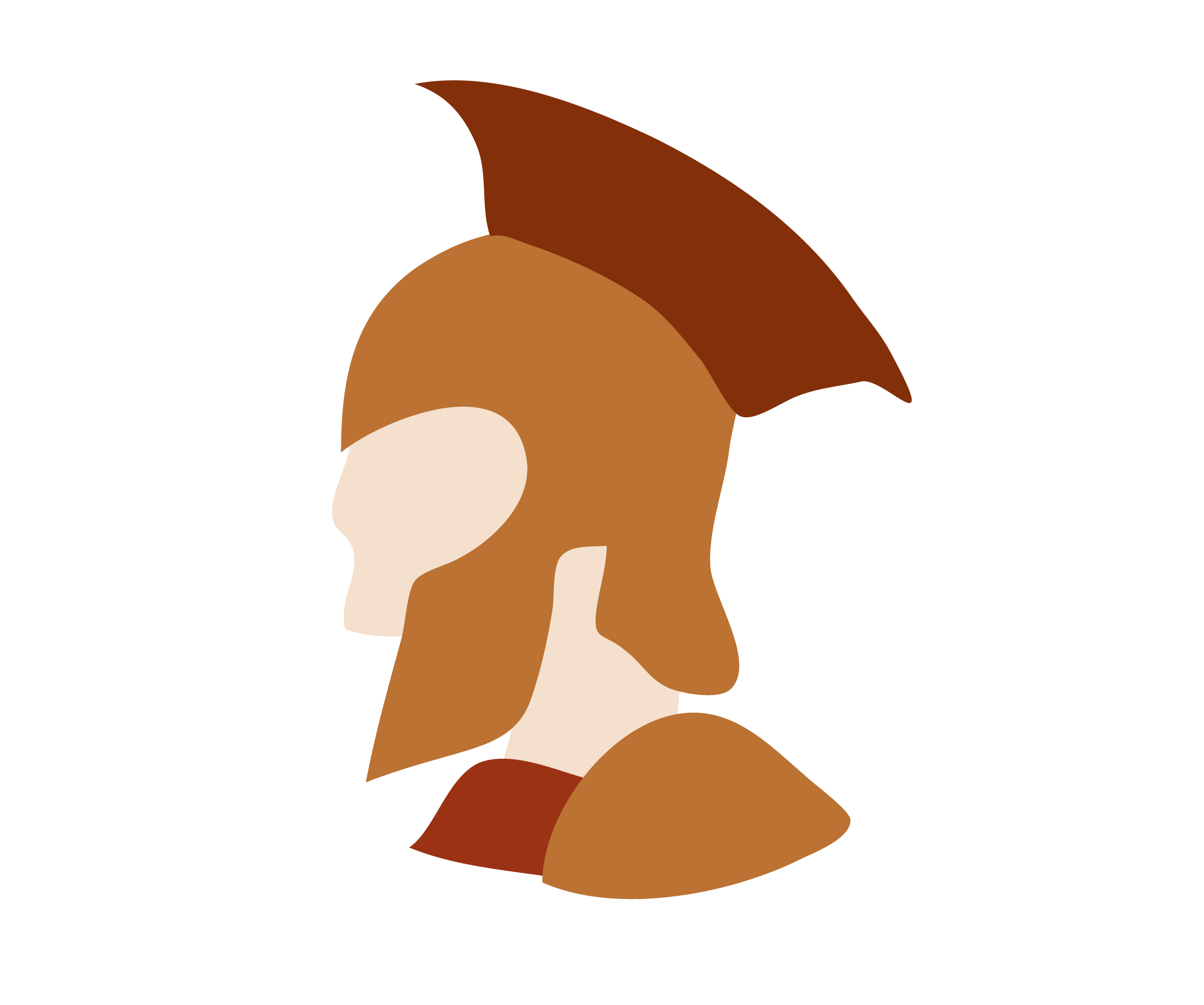Homer s vision characters. Warrior clipart achilles
