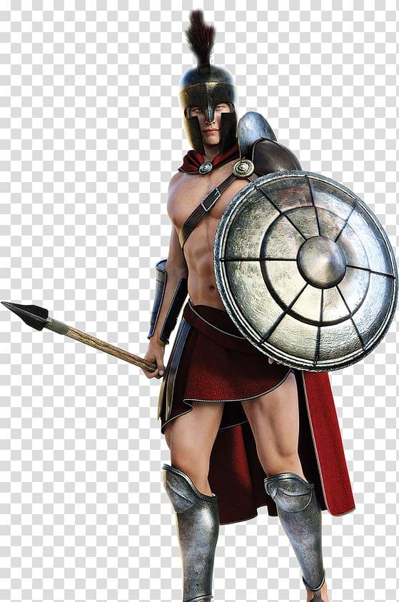 Spartan ancient greece transparent. Warrior clipart army greek
