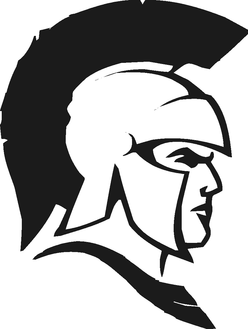 Free download clip art. Warrior clipart black and white