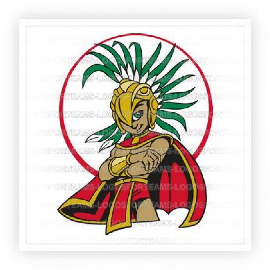 Warrior clipart boy. Mascot logo part of