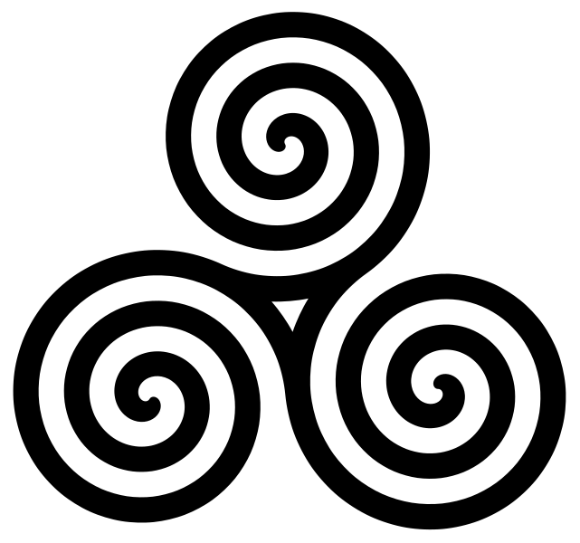 Warrior clipart celt. Triskele the celtic journey
