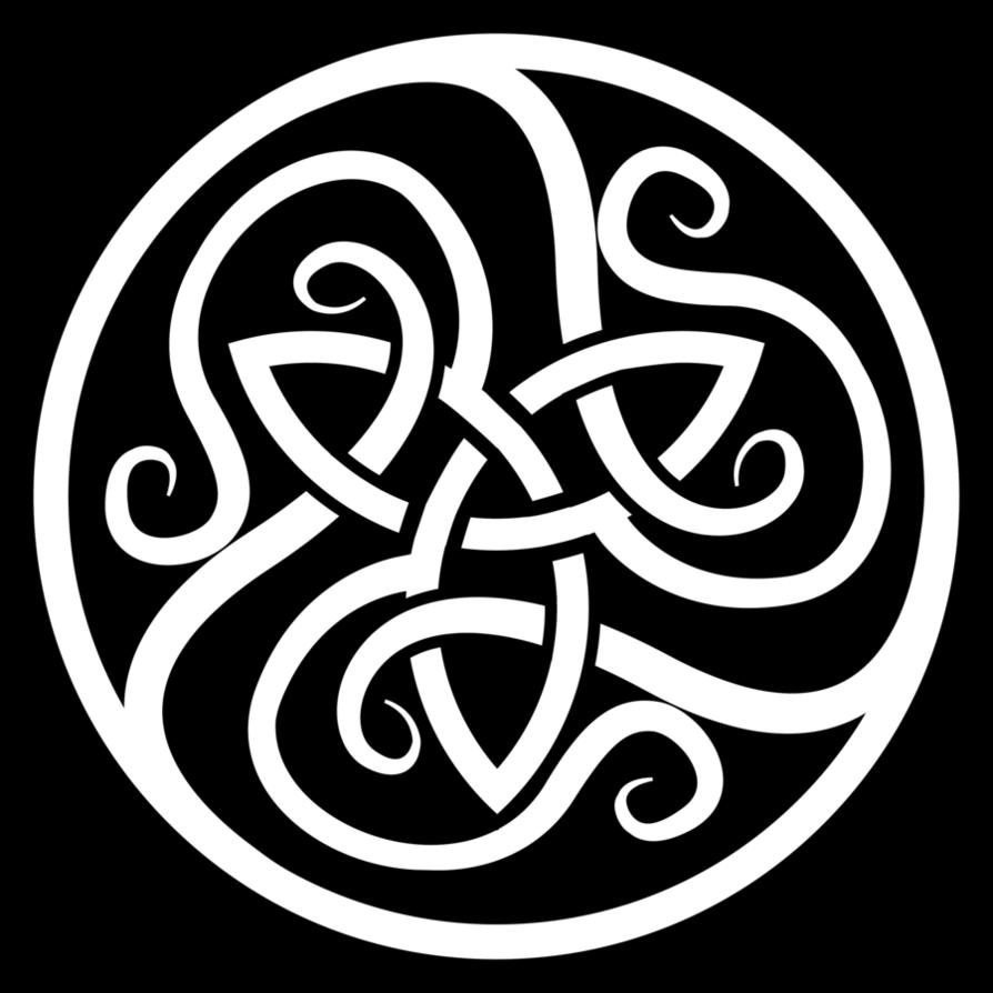 Celtic symbol tattoo images. Warrior clipart celt