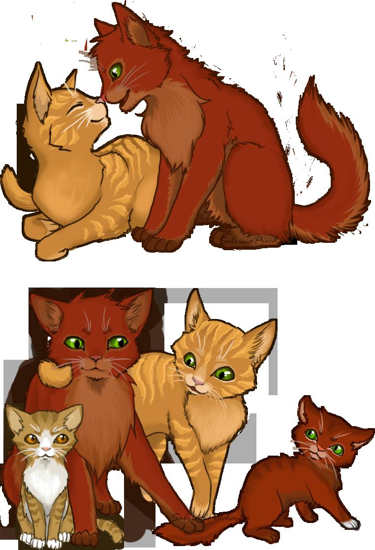 Cats couples . Warrior clipart clip art