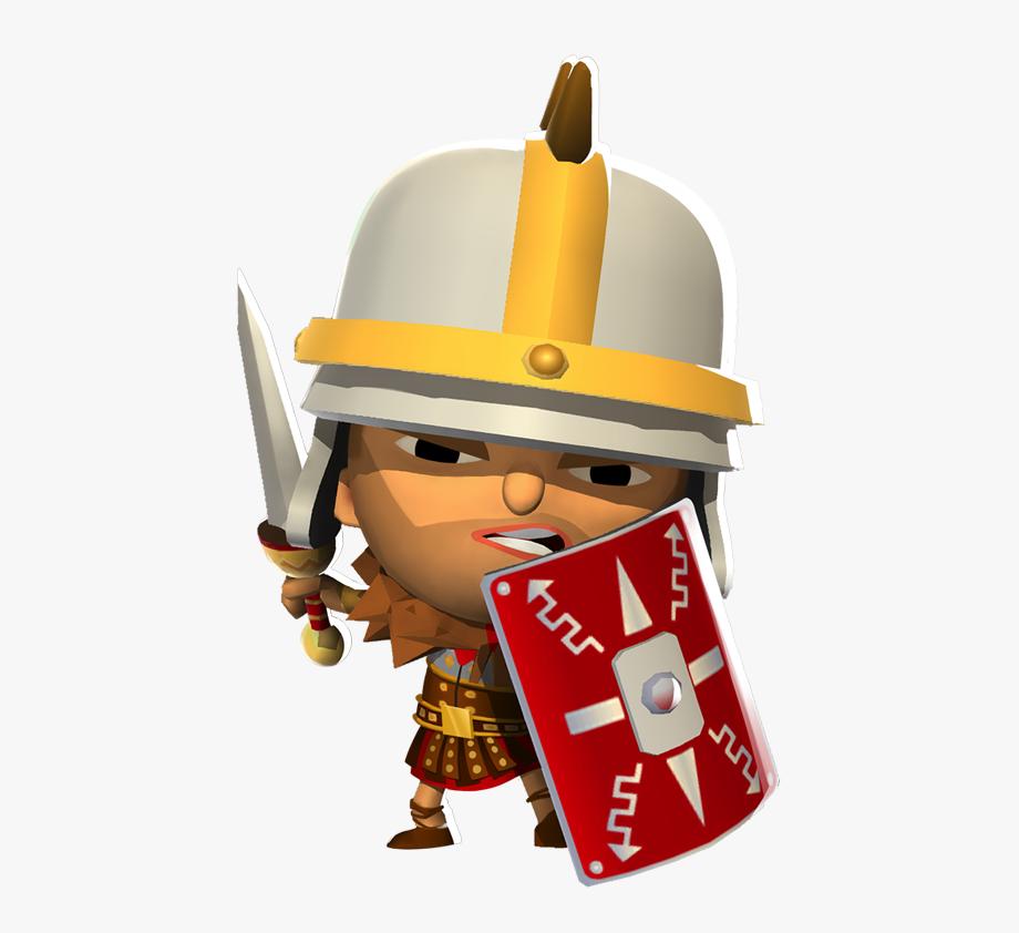 Roman warriors cartoon . Warrior clipart enemy warrior
