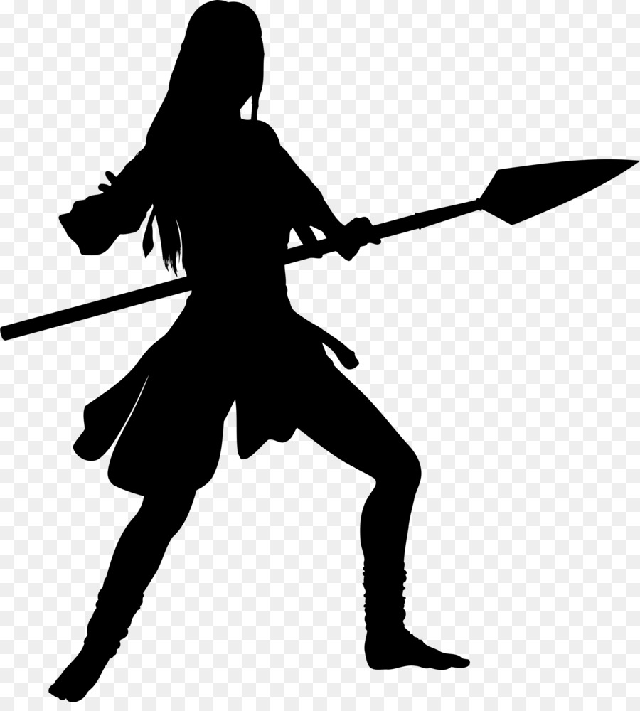 Woman cartoon transparent clip. Warrior clipart female warrior