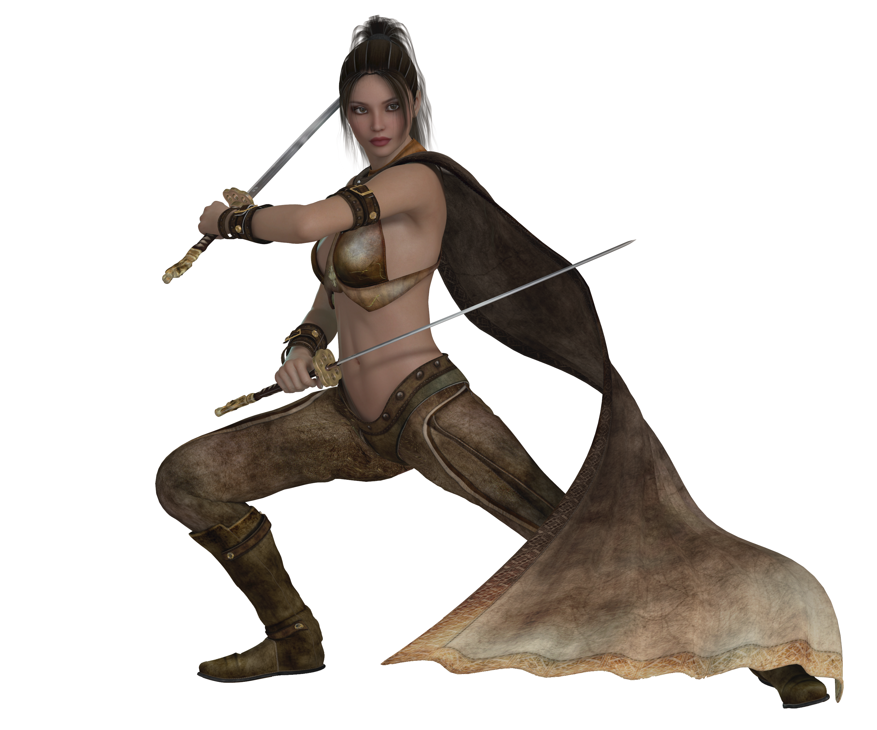 Warrior clipart female warrior. Woman dressed in a