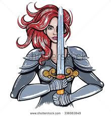 Warrior clipart female warrior. Image result for vector
