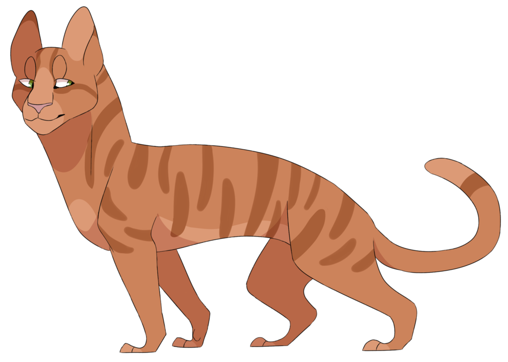Warrior clipart firestar. By envyouscat cats pinterest