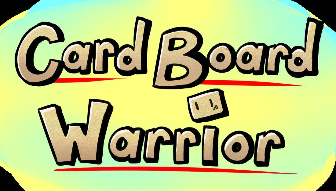 Warrior clipart font. Cardboard warriors home