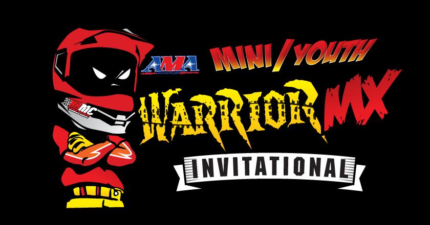 Mini warriors nationals horn. Warrior clipart font