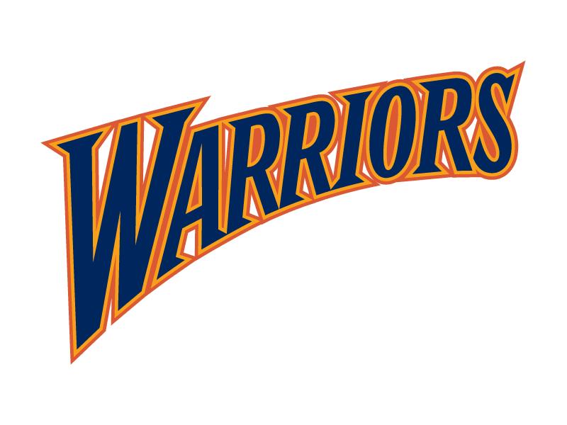 Golden state warriors logo. Warrior clipart font