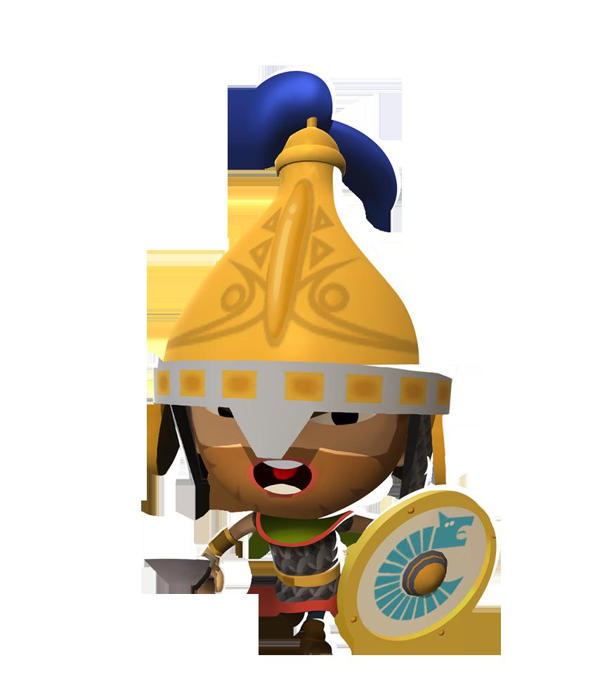 Warrior clipart guard roman. Clovis the frankish world