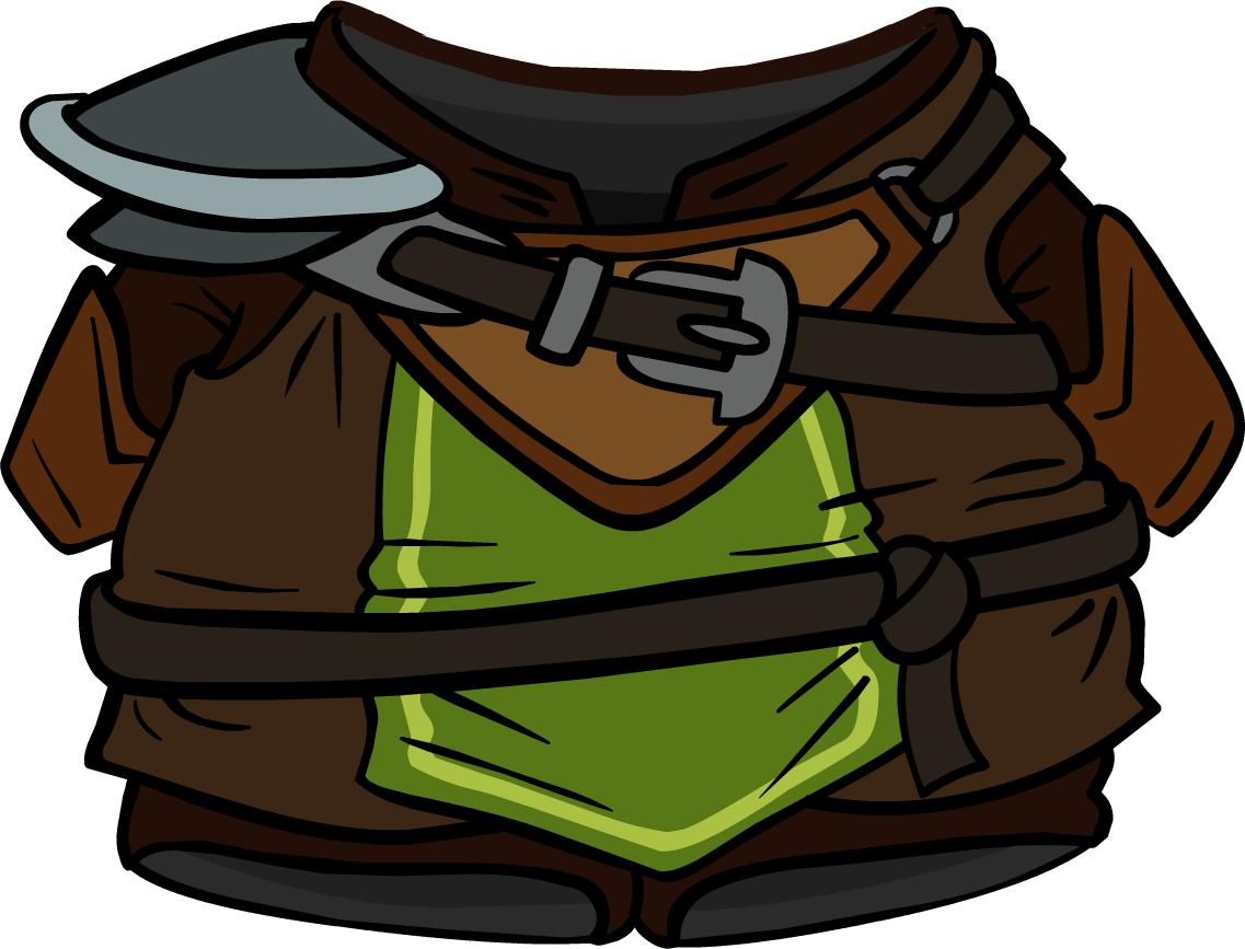 Stout armor club penguin. Warrior clipart guerrero