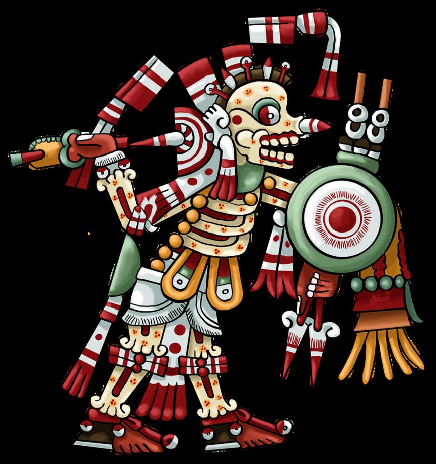 Warrior clipart guerrero. Mixteco lord of war