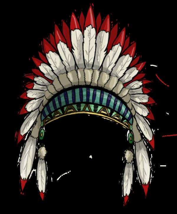 Warrior clipart headdress.  collection of high