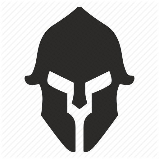 Soldier silhouette transparent . Warrior clipart icon