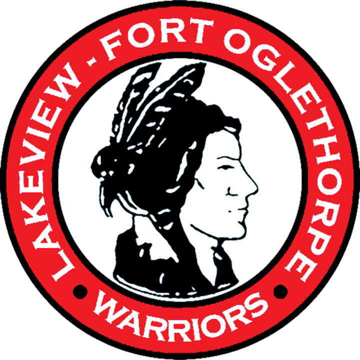 Warrior clipart lakeview. The heritage generals defeat