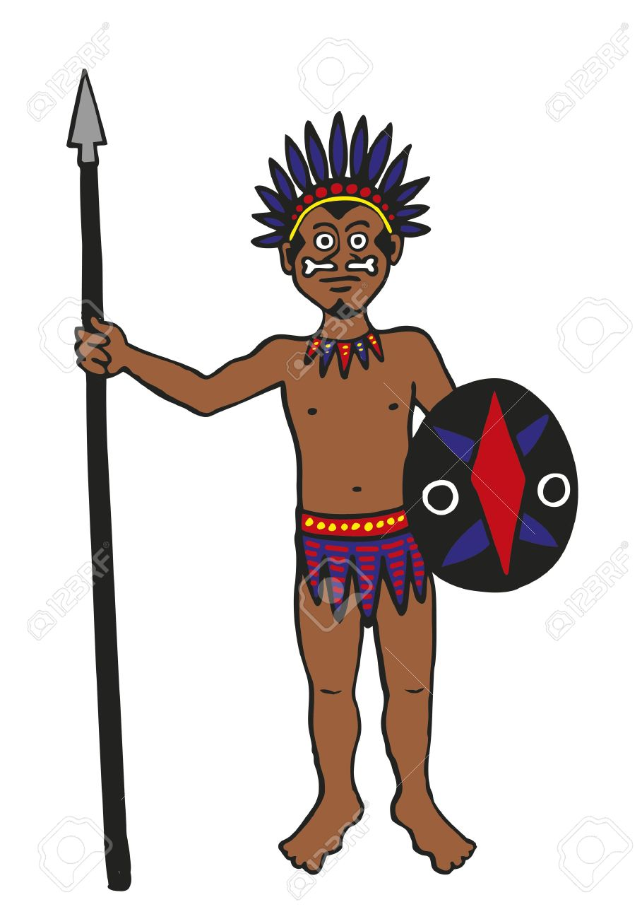 Warrior clipart male. Free download best on