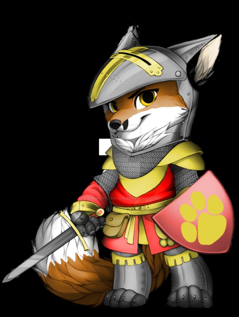 Warrior clipart mascot. Dale furvilla by rudderbuttcosplays