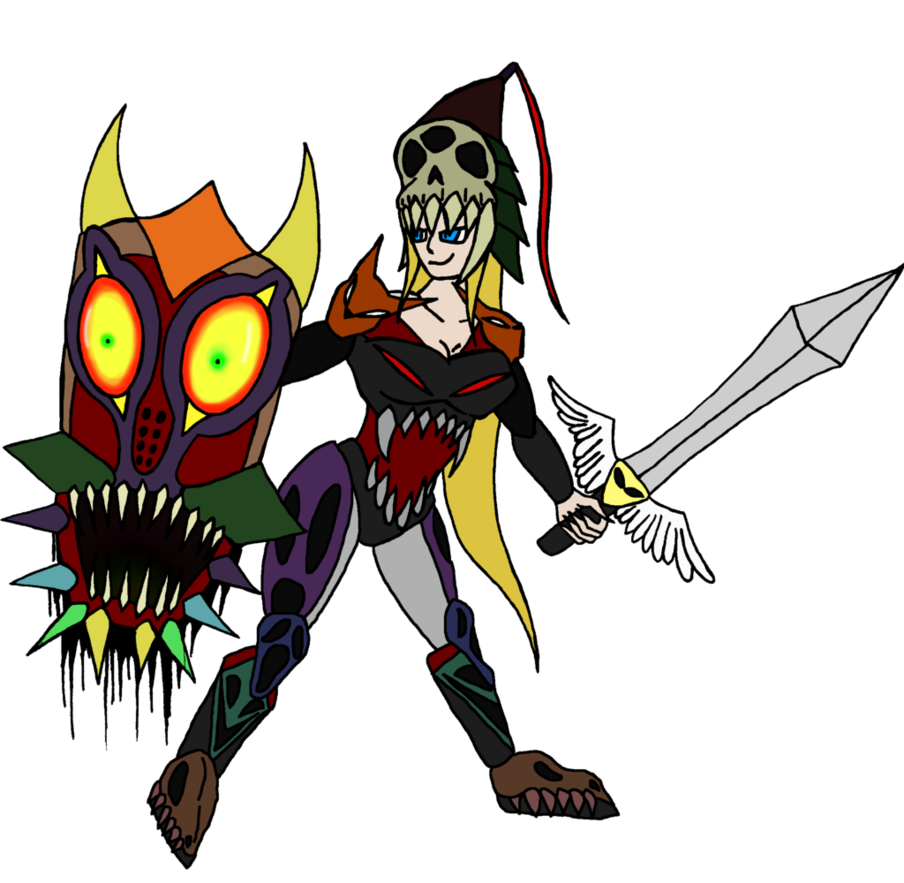 Majora s box adoptable. Warrior clipart mask