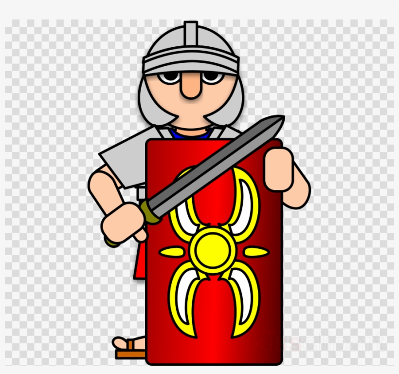Download soldier ancient rome. Warrior clipart military roman