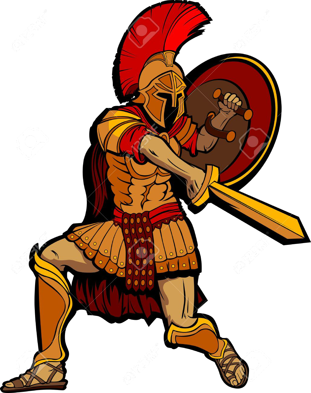 Warrior clipart old soldier. Hd roman army ancient