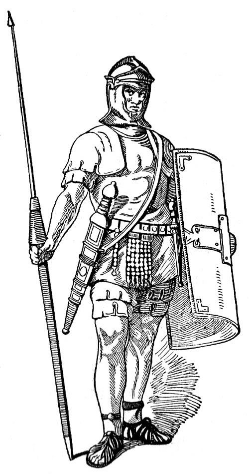 Warrior clipart old soldier. Free roman art download