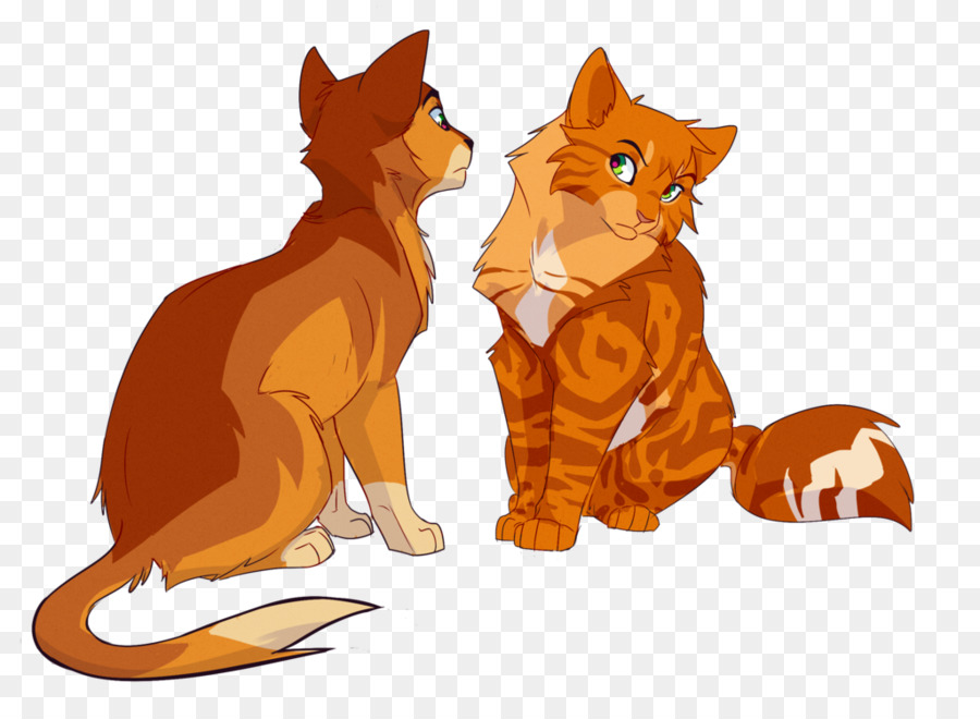 Warrior clipart orange. Forest background cat drawing