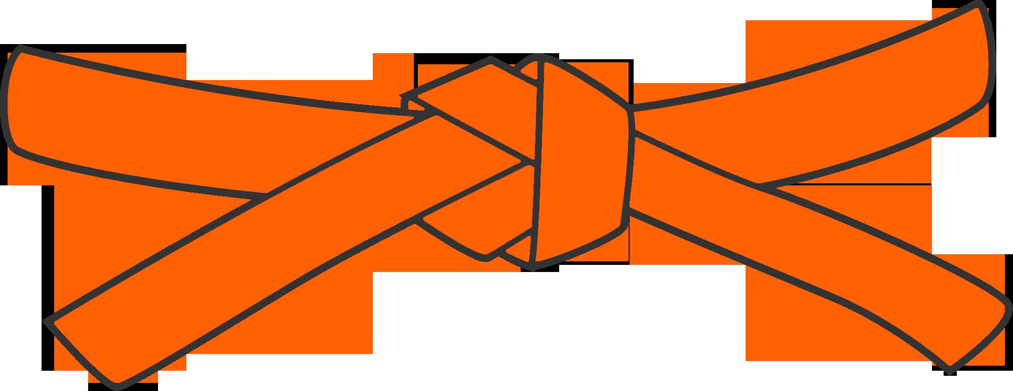 athlete meet results. Warrior clipart orange