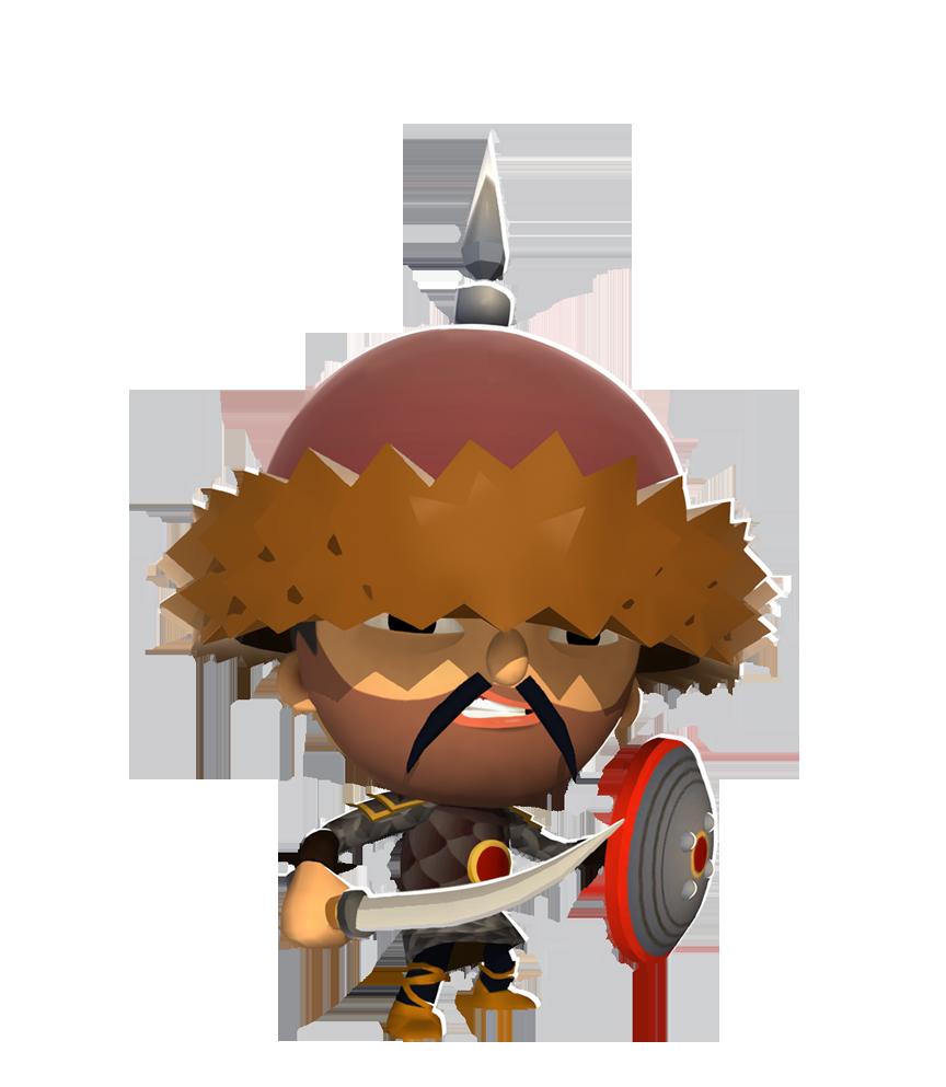 Warrior clipart orange. User blog zengis world