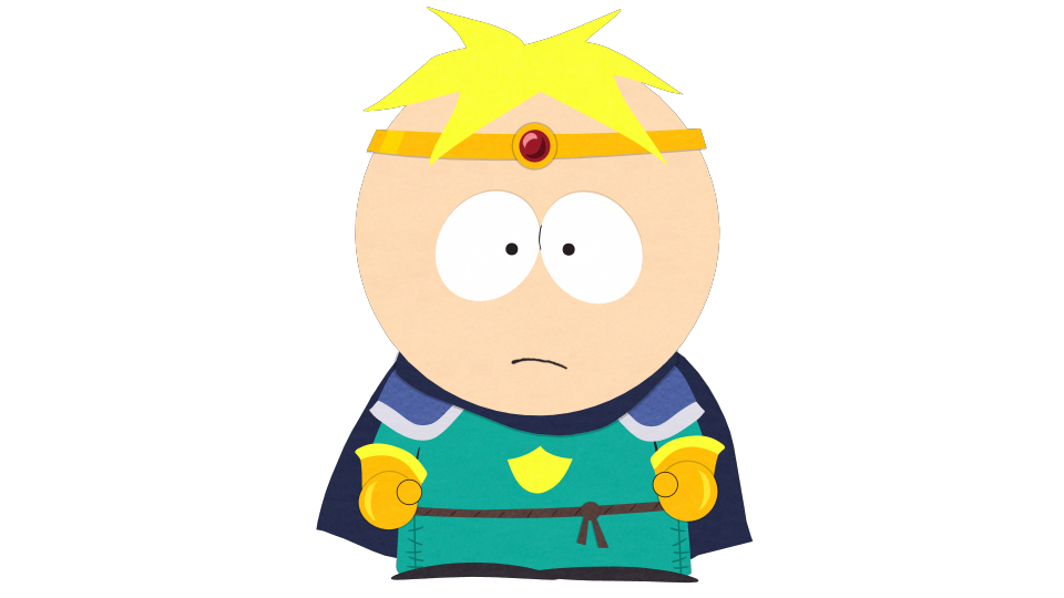 Warrior clipart paladin. Butters the merciful official